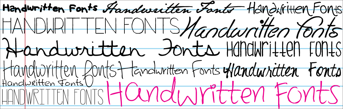 Knitting Fonts For Mac : Lovely handwritten fonts resources for your handmade