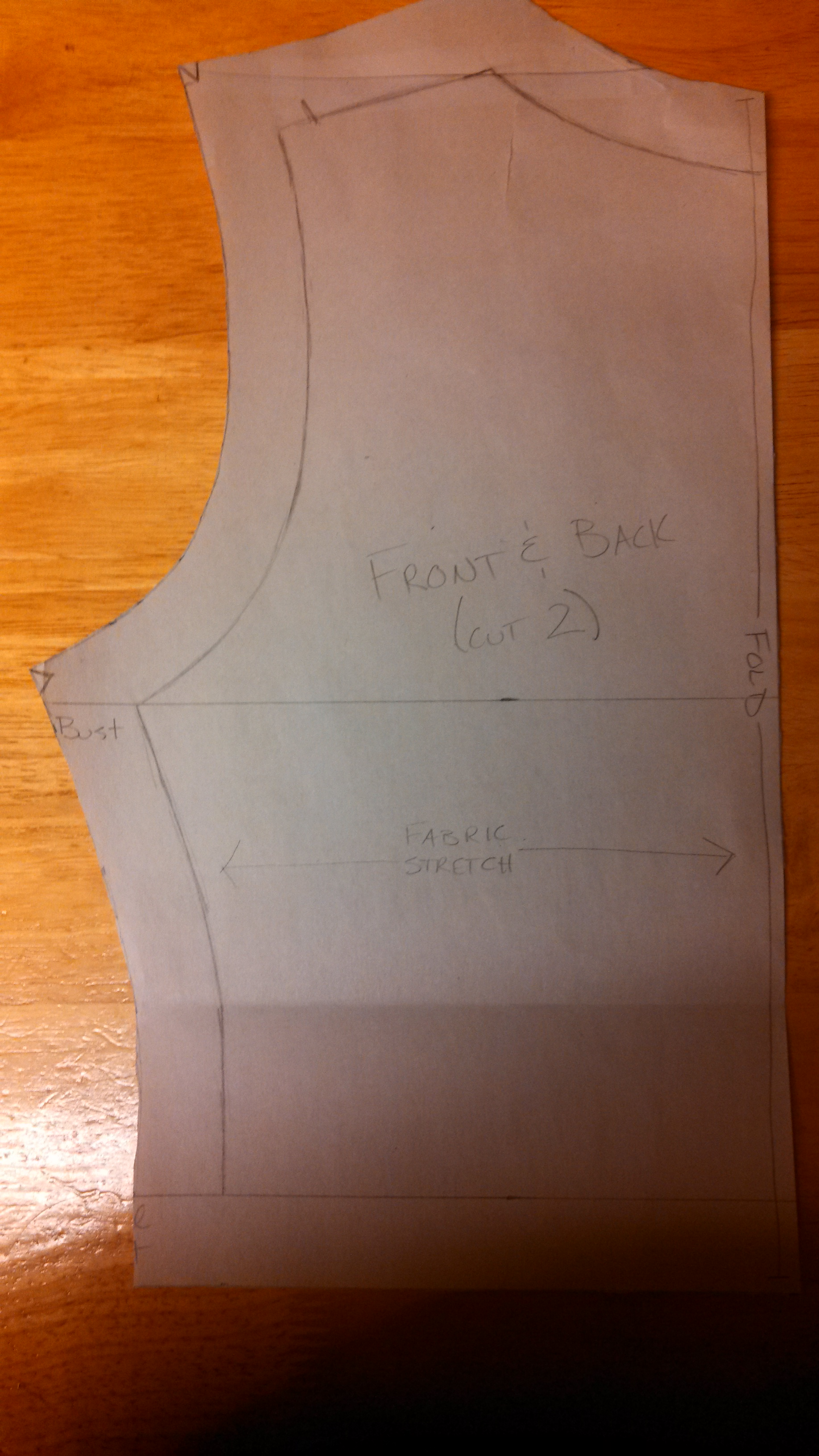 cut out bodice