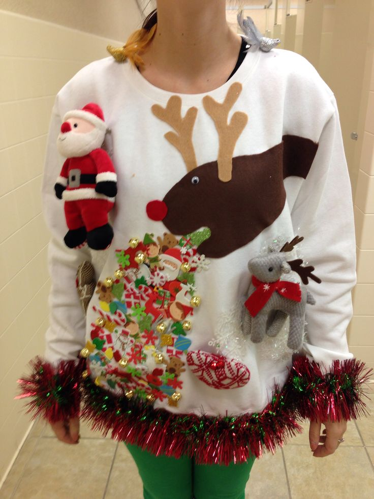Ugly Christmas Sweater DIY Guide - Resources for Your ...