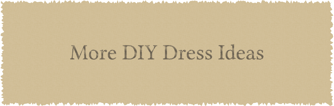 More DIY Dress Ideas