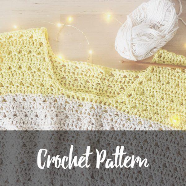 Velvet Mesquite crochet top