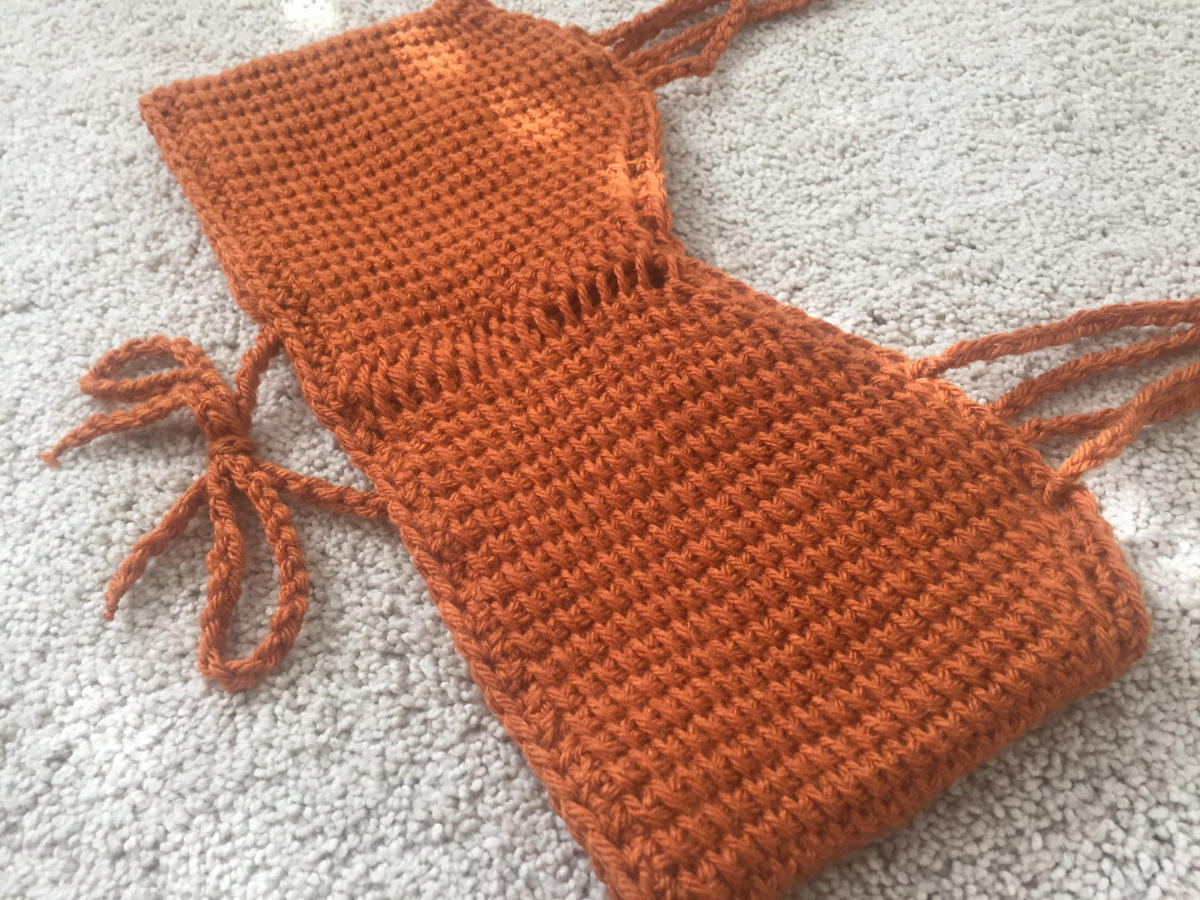 The Solstice Crop Top (Tunisian Crochet Pattern) - Resources for ...