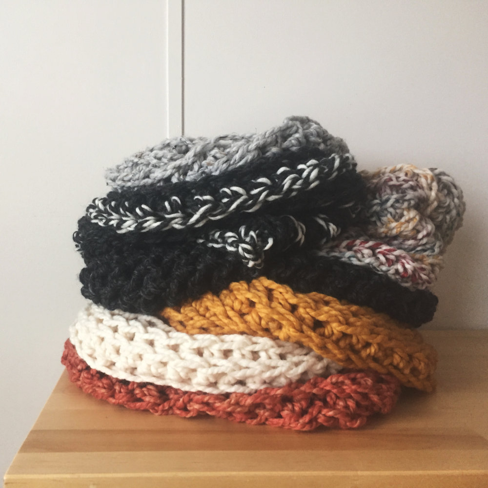 stack of Allegheny Cowls