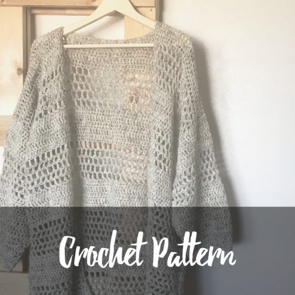 Hemlock Cardigan Crochet Pattern Resources For Your Handmade Home