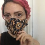 COVID-19 Coronavirus face mask complete